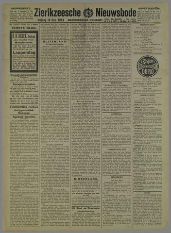 Zierikzeesche Nieuwsbode 1923-12-14