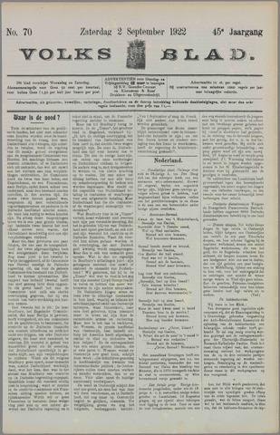 Volksblad 1922-09-02