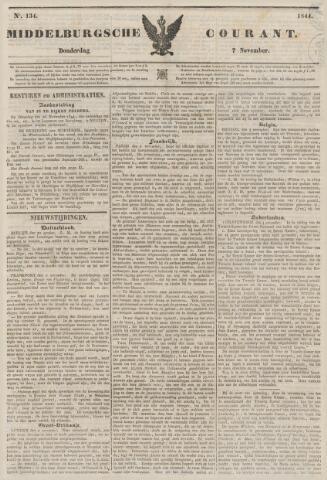 Middelburgsche Courant 1844-11-07