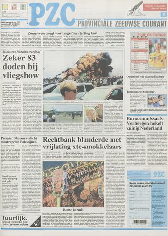 Provinciale Zeeuwse Courant 2002-07-29
