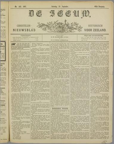 De Zeeuw. Christelijk-historisch nieuwsblad voor Zeeland 1897-09-25