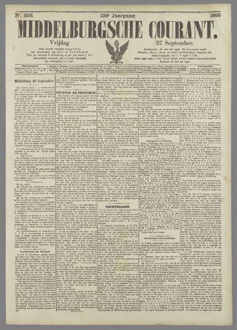 Middelburgsche Courant 1895-09-27