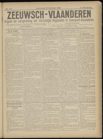 Luctor et Emergo. Antirevolutionair nieuws- en advertentieblad voor Zeeland / Zeeuwsch-Vlaanderen. Orgaan ter verspreiding van de christelijke beginselen in Zeeuwsch-Vlaanderen 1918-10-26