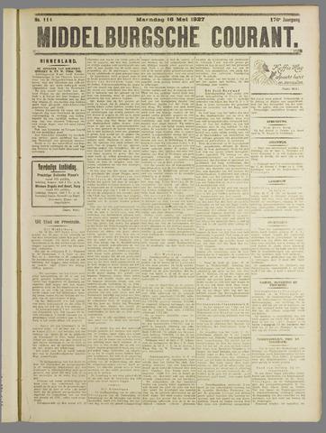 Middelburgsche Courant 1927-05-16