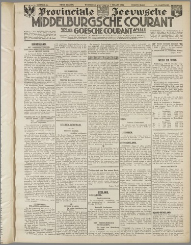 Middelburgsche Courant 1934-03-07