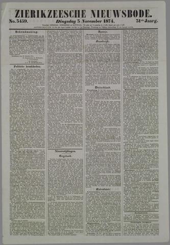 Zierikzeesche Nieuwsbode 1874-11-03