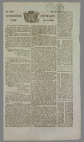 Goessche Courant 1826-10-06