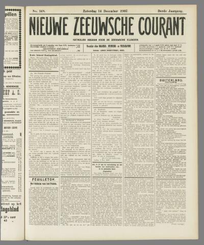 Nieuwe Zeeuwsche Courant 1907-12-14