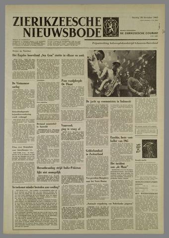Zierikzeesche Nieuwsbode 1965-12-28