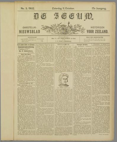 De Zeeuw. Christelijk-historisch nieuwsblad voor Zeeland 1902-10-11