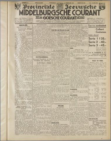 Middelburgsche Courant 1935-02-27