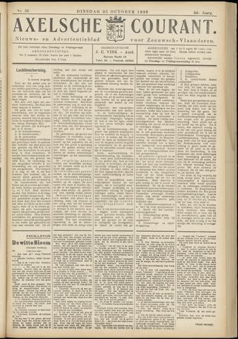 Axelsche Courant 1938-10-25