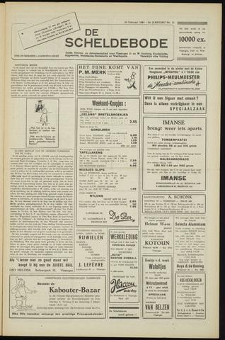 Scheldebode 1954-02-26