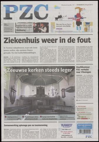 Provinciale Zeeuwse Courant 2014-04-10