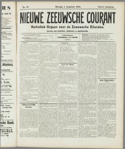 Nieuwe Zeeuwsche Courant 1905-08-01