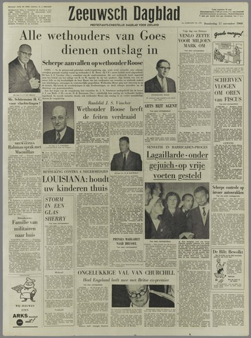 Zeeuwsch Dagblad 1960-11-17