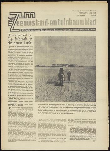 Zeeuwsch landbouwblad ... ZLM land- en tuinbouwblad 1965-05-14