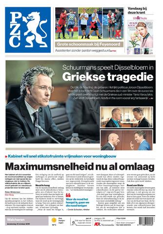 Provinciale Zeeuwse Courant 2019-10-31