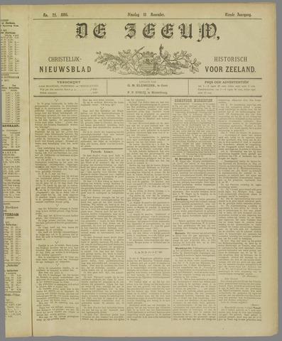 De Zeeuw. Christelijk-historisch nieuwsblad voor Zeeland 1895-11-18