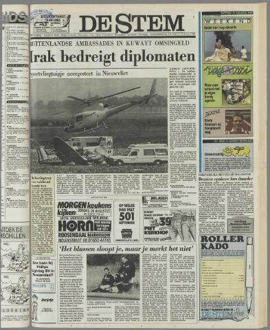 de Stem 1990-08-25
