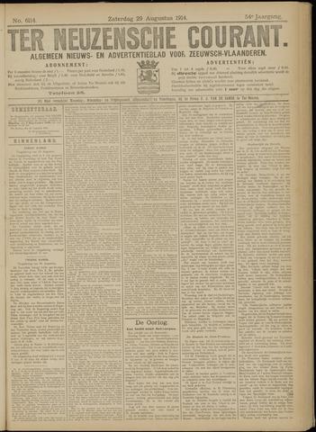 Ter Neuzensche Courant. Algemeen Nieuws- en Advertentieblad voor Zeeuwsch-Vlaanderen / Neuzensche Courant ... (idem) / (Algemeen) nieuws en advertentieblad voor Zeeuwsch-Vlaanderen 1914-08-29