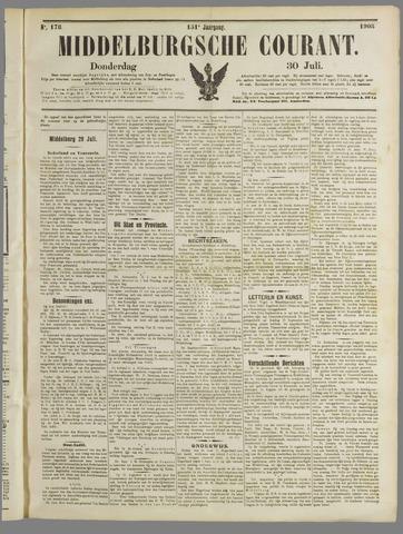 Middelburgsche Courant 1908-07-30