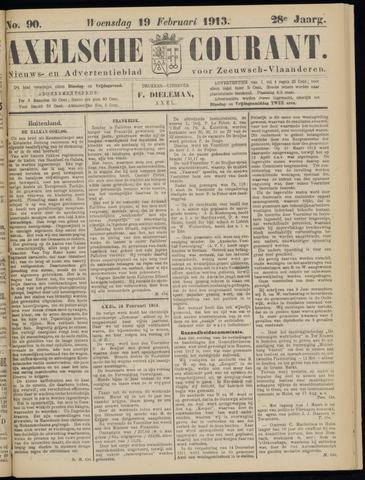 Axelsche Courant 1913-02-19