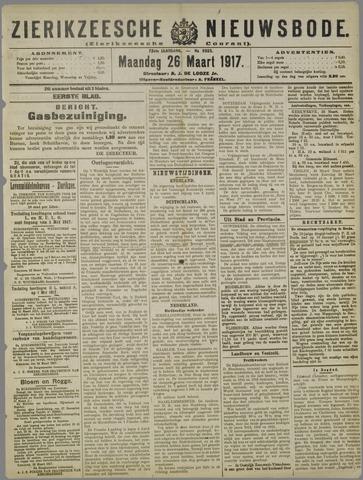 Zierikzeesche Nieuwsbode 1917-03-26