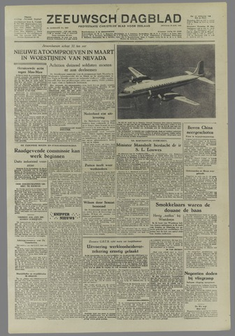 Zeeuwsch Dagblad 1953-01-27