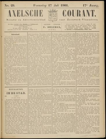 Axelsche Courant 1901-07-17