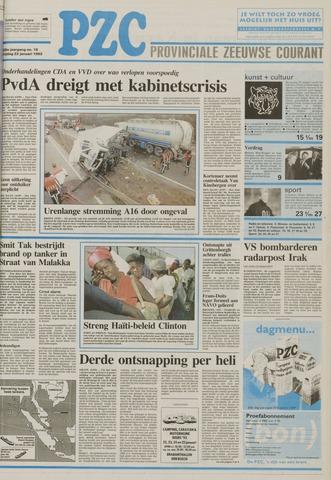 Provinciale Zeeuwse Courant 1993-01-22