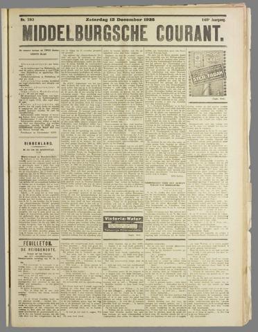Middelburgsche Courant 1925-12-12