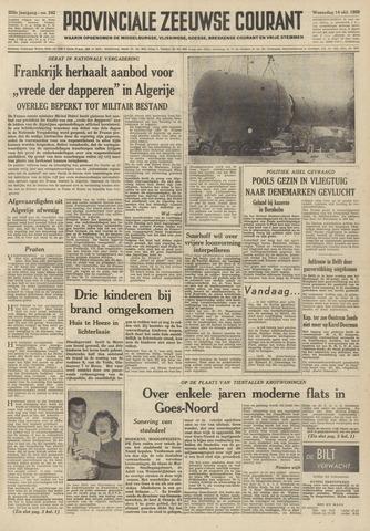 Provinciale Zeeuwse Courant 1959-10-14