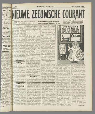 Nieuwe Zeeuwsche Courant 1912-05-16
