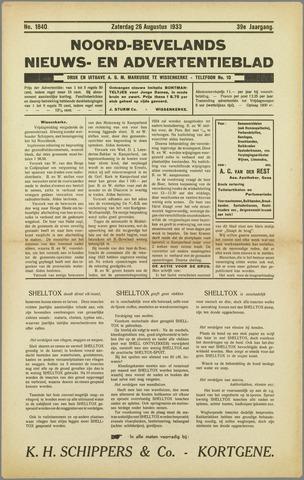 Noord-Bevelands Nieuws- en advertentieblad 1933-08-26