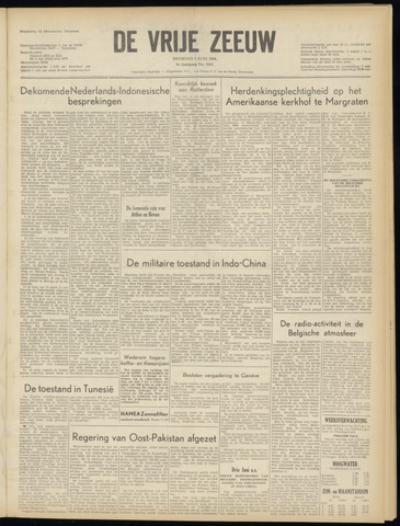 de Vrije Zeeuw 1954-06-01