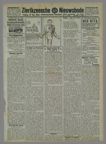 Zierikzeesche Nieuwsbode 1932-10-14