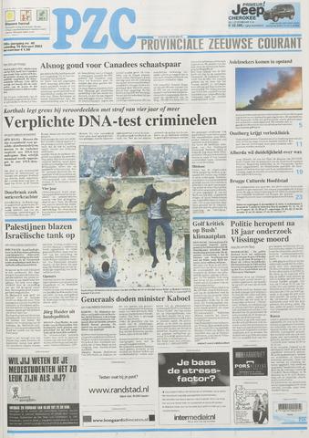 Provinciale Zeeuwse Courant 2002-02-16
