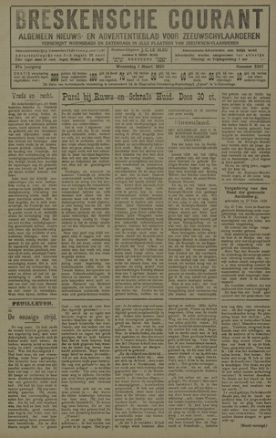 Breskensche Courant 1928-02-29