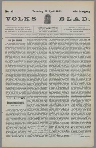 Volksblad 1923-04-21