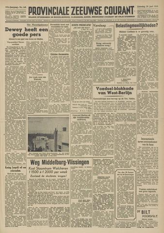 Provinciale Zeeuwse Courant 1948-06-26