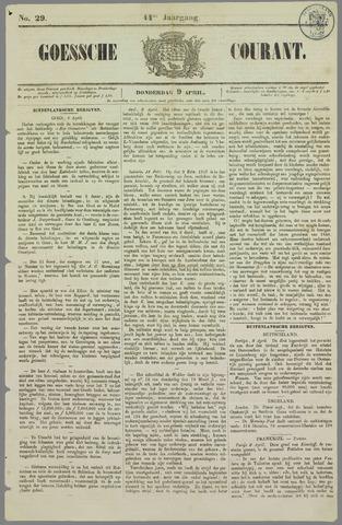 Goessche Courant 1857-04-09