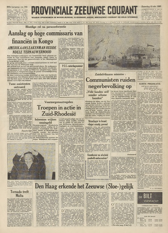 Provinciale Zeeuwse Courant 1960-10-15