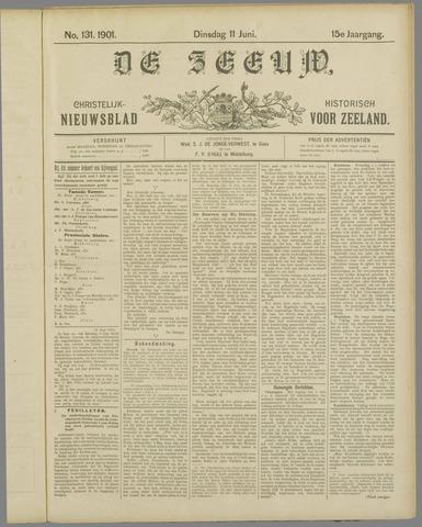 De Zeeuw. Christelijk-historisch nieuwsblad voor Zeeland 1901-06-11