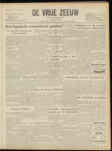 de Vrije Zeeuw 1954-10-20