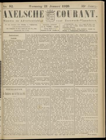 Axelsche Courant 1920-01-21