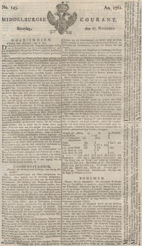 Middelburgsche Courant 1762-11-27