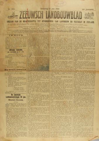 Zeeuwsch landbouwblad ... ZLM land- en tuinbouwblad 1923-07-21