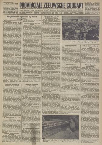 Provinciale Zeeuwse Courant 1942-07-23