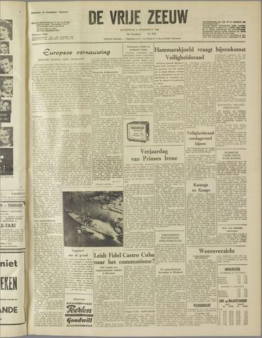 de Vrije Zeeuw 1960-08-06
